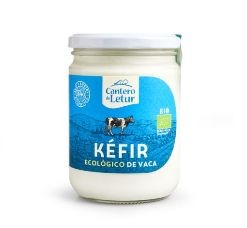 Kéfir ecológico de vaca de 420 g. Cantero de Letur