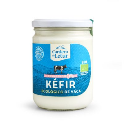 Kéfir ecológico de vaca desnatado de 420 g. Cantero de Letur