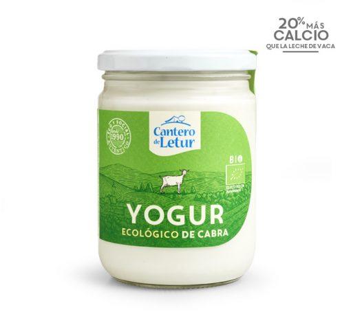 Yogur de cabra ecológico de 420 g. Cantero de Letur