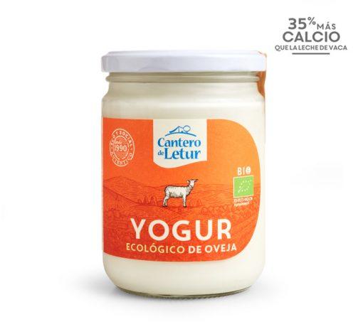 Yogur ecológico de oveja de 420 g. Cantero de Letur