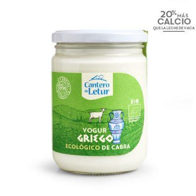 Yogur griego de cabra 420g ecológico. Cantero de Letur