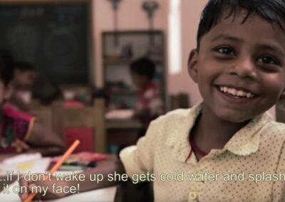 Intervención socio educativa en los suburbios del sur de Nueva Delhi