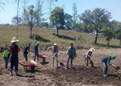 Aumento de la capacidad de cultivo agroecológico de las comunidades Lencas de Honduras