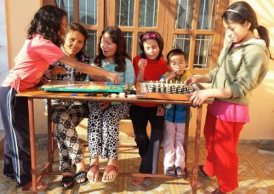 Apoyo a las niñas acogidas en el hogar POOR AND HELPLESS GIRLS HOME de Nepal